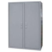 Armoire électrique / au sol / double porte / en tôle d'acier