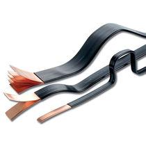 Jeu de barres en cuivre / flexible / isolé