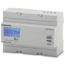 Compteur d'énergie électrique monophasé / sur rail DIN / Modbus