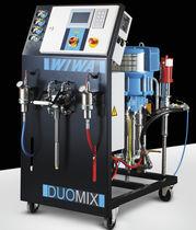 Unité de pulvérisation pneumatique / haute pression / pour revêtements protecteurs