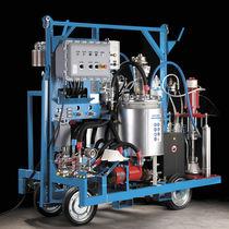Unité de pulvérisation de peinture bi-composant / pneumatique / haute pression / automatique
