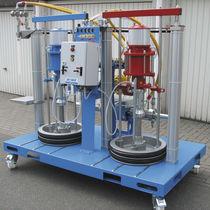Unité de pulvérisation de résine / pneumatique / haute pression / simultanée