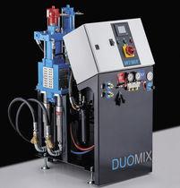 Unité de pulvérisation de peinture bi-composant / hydraulique / robuste / hydraulique