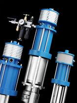 Pompe pour peinture / électrique / à piston / pour pulvérisation