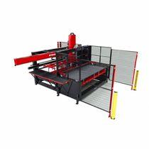 Système de chargement et déchargement pour tôle métallique / tôlerie / modulaire
