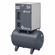 Compresseur d'air / stationnaire / à moteur électrique / à spirale