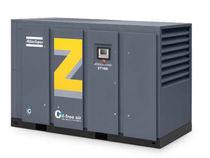 Compresseur d'air / rotatif / à vis / stationnaire