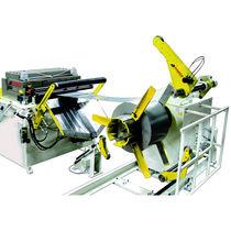 Dévidoir motorisé / pour alimentation de presse / horizontal