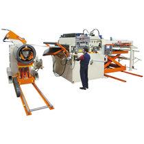 Ligne de découpe transversale CNC / de métal / alimentée par bobine