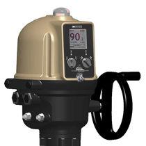 Actionneur de vanne électromécanique / type quart de tour / compact / à modulation