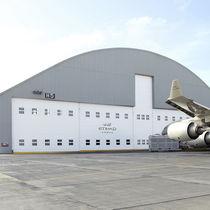 Portes à empilement / en tissu / pour l'aviation civile et militaire / de hangar