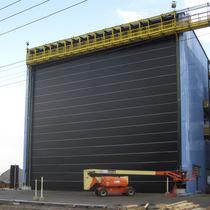 Portes à empilement / industrielles / de hangar / pour chantiers navals