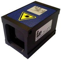Capteur de distance laser à mesure du temps de vol / à sortie analogique / à sortie numérique / antichoc