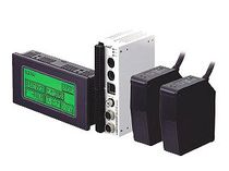 Capteur de déplacement linéaire / laser / optique / compact