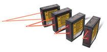 Capteur de position sans contact / laser par triangulation / à sortie analogique / IP67
