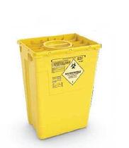 Poubelle en plastique / pour déchets médicaux