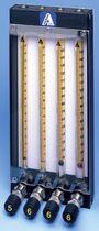 Débitmètre à flotteur / pour gaz / pour liquide / à lecture directe