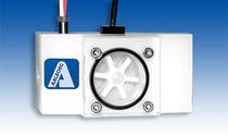 Débitmètre à rotor / pour liquide / à montage vertical / en polypropylène