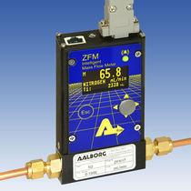 Débitmètre thermique / massique / pour gaz / programmable