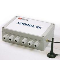 Enregistreur de données de température / GSM / GPRS / RS-232C / sans écran