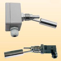 Détecteur de niveau à flotteur / à flotteur horizontal / pour liquide / fileté