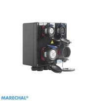 Coffret électrique équipé / modulaire / en polyester / pour distribution électrique