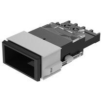Bouton poussoir unipolaire / standard / lumineux bicolore / électromécanique