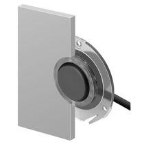 Bouton poussoir unipolaire / lumineux (LED) / action momentanée / IP67