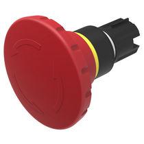 Interrupteur coup de poing / unipolaire / rond / d'arrêt d'urgence