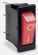 Interrupteur à bascule / unipolaire / résistant aux éclaboussures