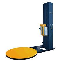 Banderoleuse à plateau tournant / semi-automatique / pour palettes / pour porte
