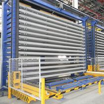 Système de stockage vertical / pour tôle