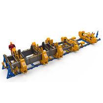 Banc d'assemblage pour chassis de semi-remorque / modulaire / multiusage