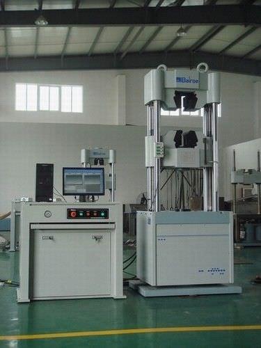 Machine d'essai universelle / de flexion / d'élongation / de fatigue HUT-1000   Shanghai Bairoe Test Instrument