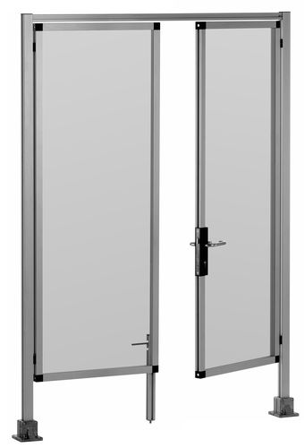 porte coulissante verticale / multi-lames / battante / pliante