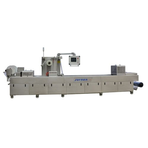 Machine de thermoformage alimentée par rouleau / pour emballage / automatisée / sous vide DFP320/420/520 Jornen Machinery Co., Ltd.