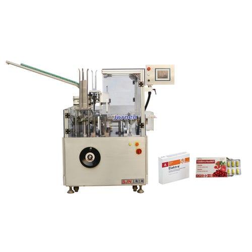Encartonneuse à chargement par le haut / pour l'industrie agroalimentaire / pour blister / à mouvement intermittent ZH60 Jornen Machinery Co., Ltd.