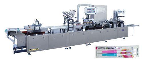 Machine de thermoformage alimentée par rouleau / pour emballage / automatisée DPP350 Jornen Machinery Co., Ltd.