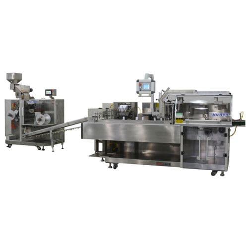 Encartonneuse verticale / pour blister Jornen Machinery Co., Ltd.