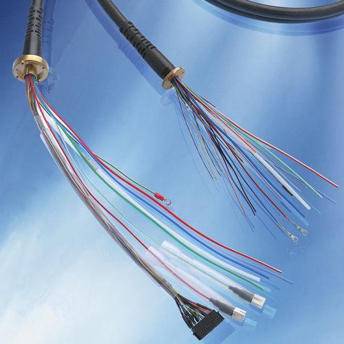 câble électrique hybride / isolé / en composite