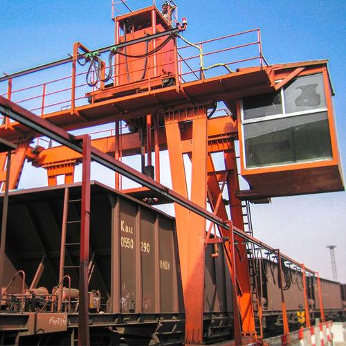 échantillonneur par voie mécanique / pour produits en vrac / automatique / ferroviaire