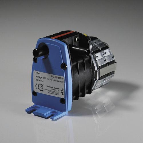 Pompe à eau / pour produits alimentaires / électrique / auto-amorçante RD01 Liquid Rotary Diaphragm Pumps CHARLES AUSTEN PUMPS LTD / BLUE DIAMOND PUMPS INC