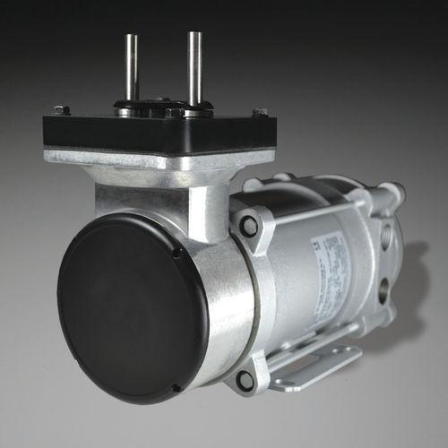 pompe à vide à membrane / sans huile / mono-étagée / résistante aux produits chimiques