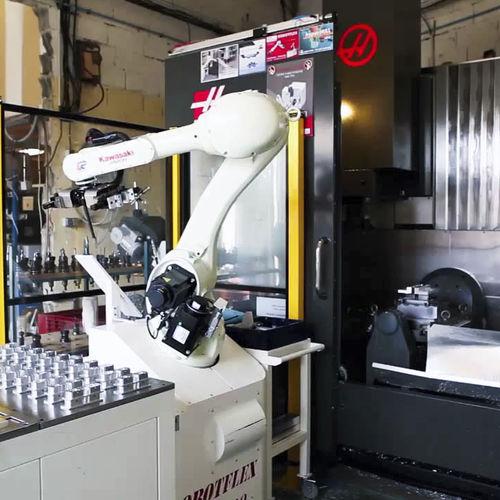 cellule robotisée de chargement - TECAUMA