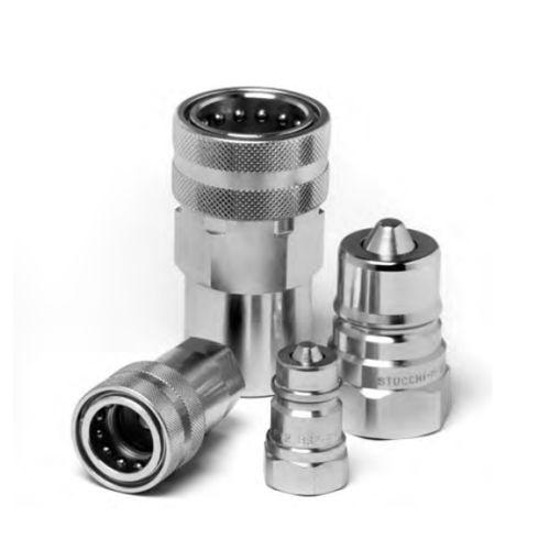 Raccord rapide / droit / hydraulique / en acier au carbone BIR series Stucchi S.p.A.