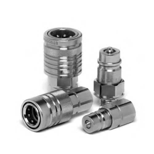 Raccord rapide / droit / hydraulique / en acier au carbone I/IP series Stucchi S.p.A.