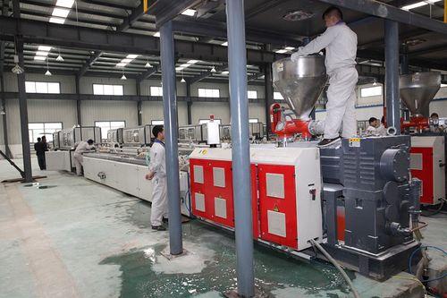 ligne d'extrusion de profilés - Jiangsu Xinrong Sinence & Technology Development Co,. Ltd.