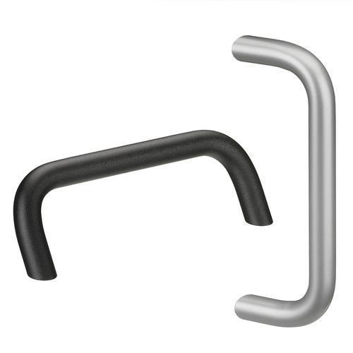 poignée étrier / tubulaire / pour porte / pour machine