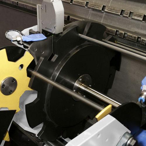 système de mesure de longueur / optique / de tubes / pour profilés