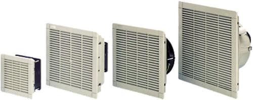 ventilateur pour armoire électrique / axial / pour refroidissement / à filtre